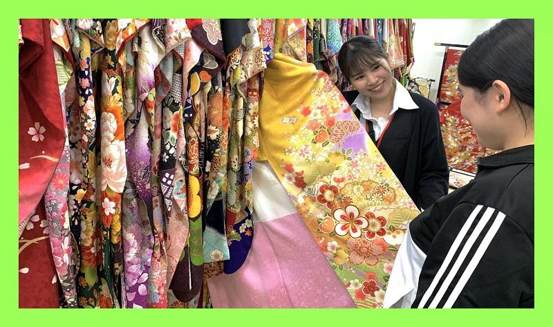 振袖選びのチャンス【7月23日(木・祝)海の日は営業いたします】香取市の谷屋呉服店です!