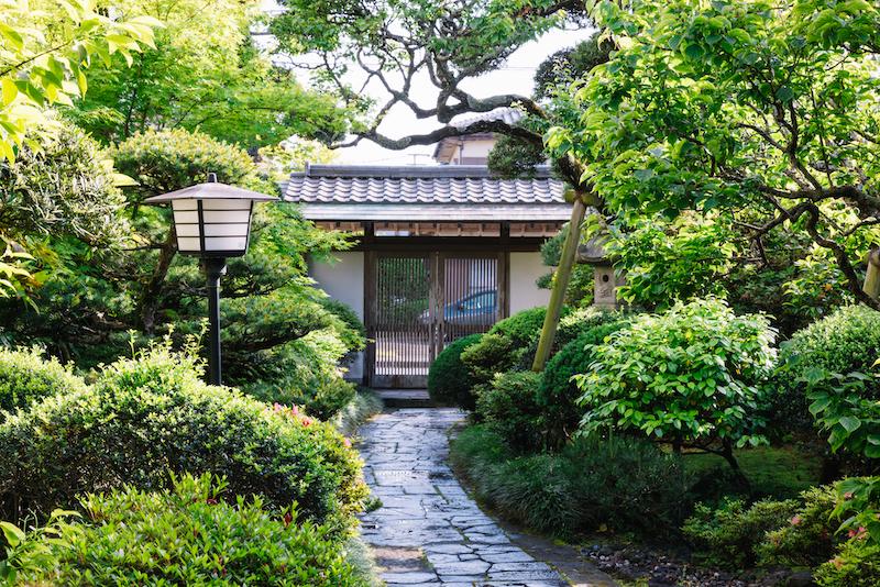 谷屋日本庭園での撮影は格別です